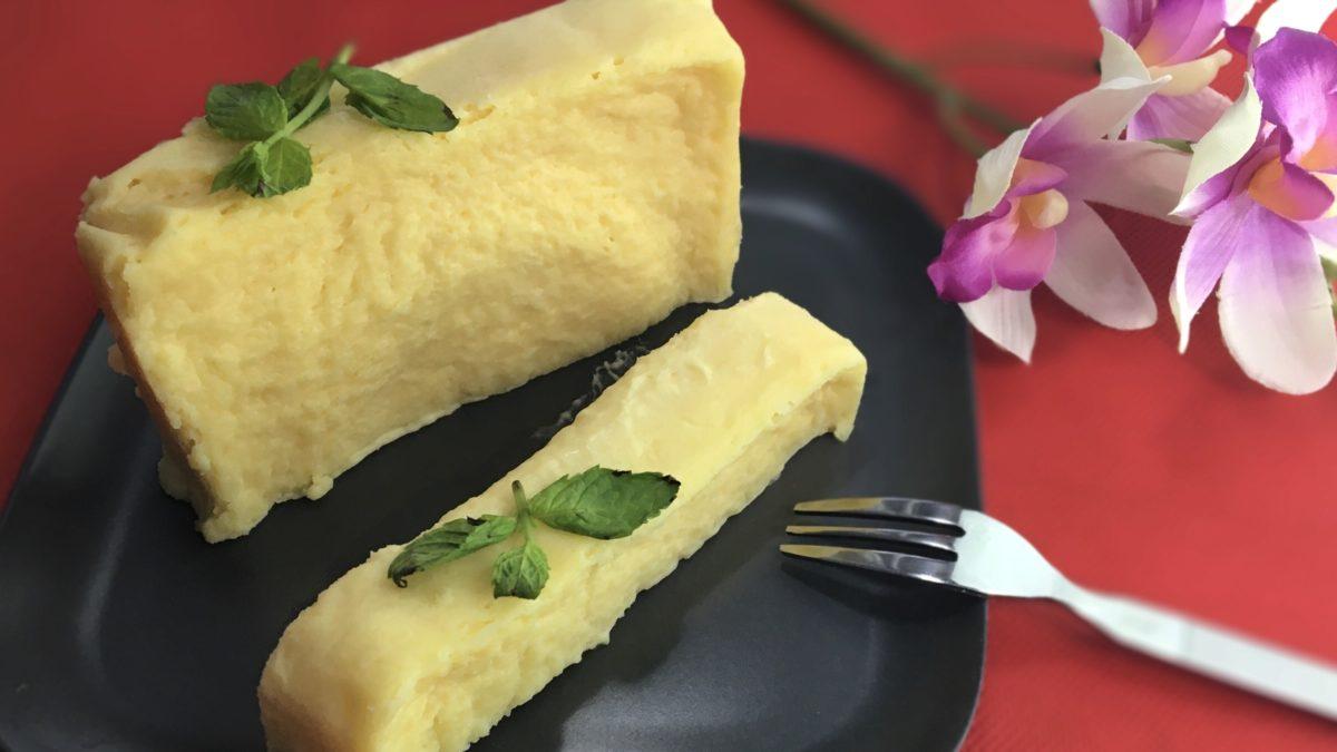 ヒルナンデスの世界一簡単なチーズケーキ