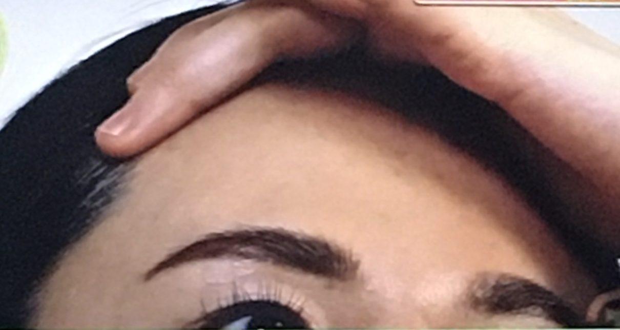 眉間のシワとりメソッド1