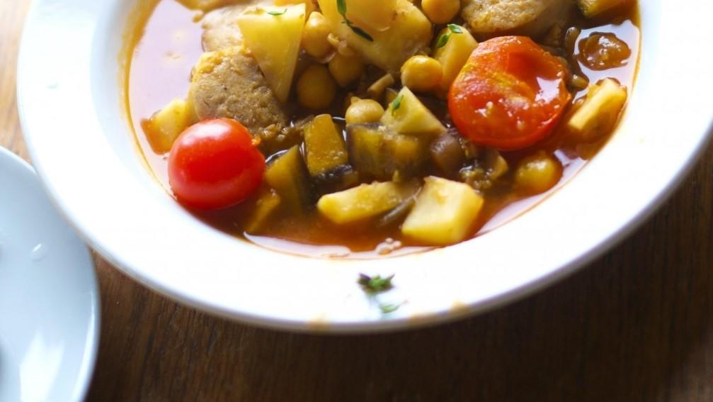 スッキリのしらすと豆腐のレンチン美腸スープ