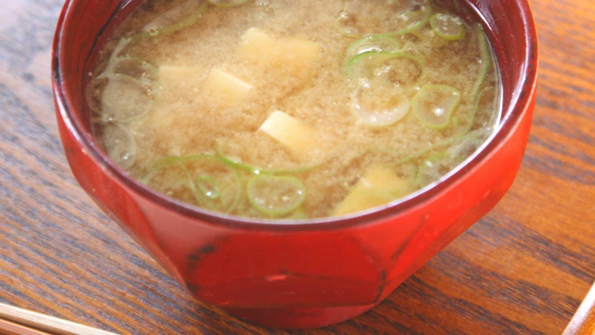 あさイチの鰹節みそ汁レシピ
