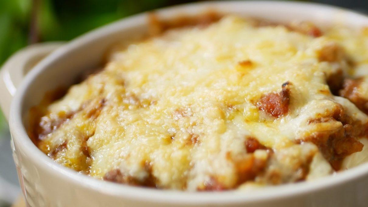 ヒルナンデスのトマトソースのチーズドリア