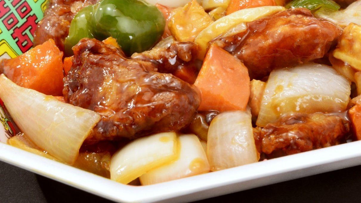 土曜は何するのやわらか黒酢風酢豚レシピ