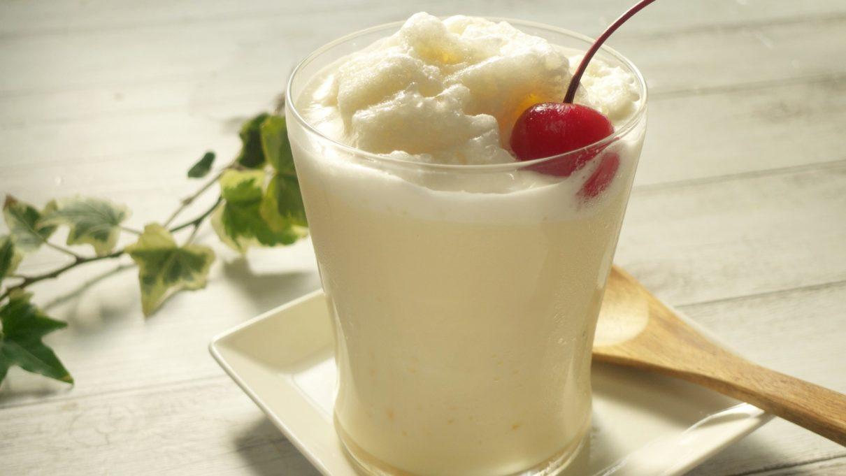 ヒルナンデスのミルクセーキレシピ