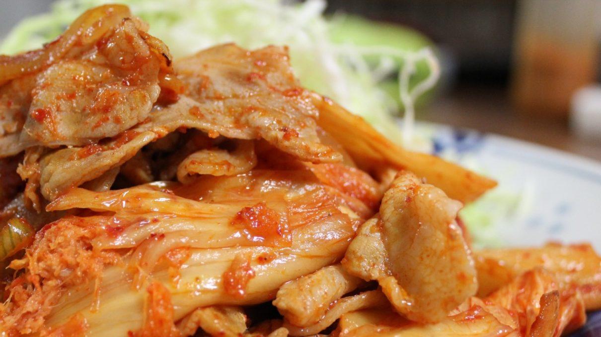土曜は何するの豚キムチレシピ