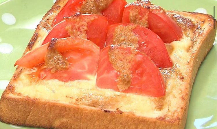 じゅわトマトトースト
