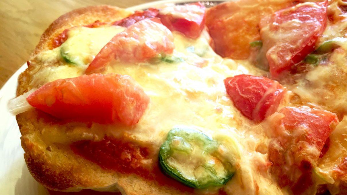 ウワサのお客さまのピザトーストレシピ