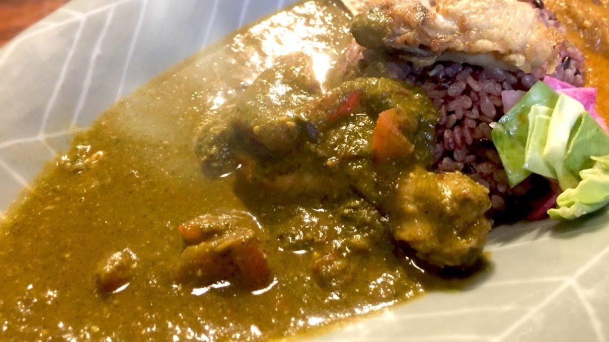 ヒルナンデスの牡蠣スパイスカレー