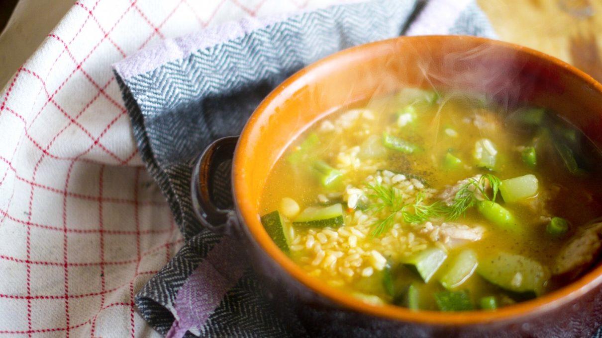 5分スープ選手権のレシピ