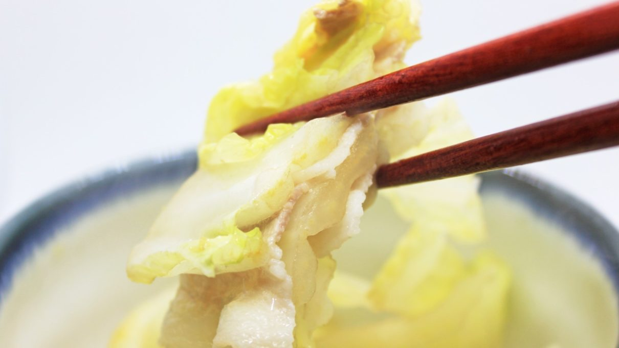 ジョブチューンの白菜料理レシピ