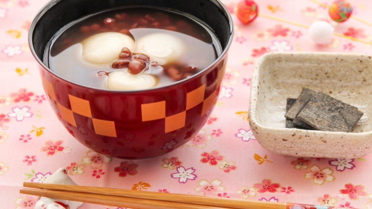 あさイチのいちごと湯葉のぜんざいレシピ