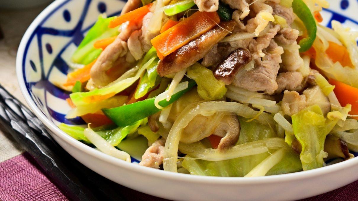 ガッテンのもやし野菜炒めレシピ