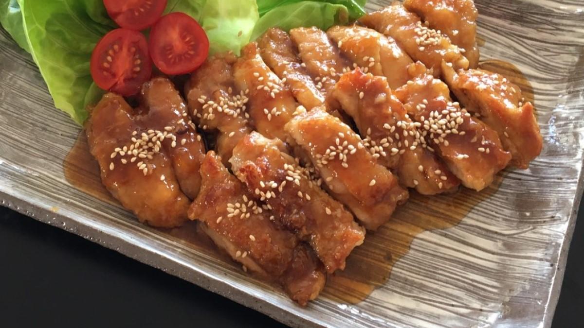 あさイチの鶏とれんこんのりんご照り焼きレシピ