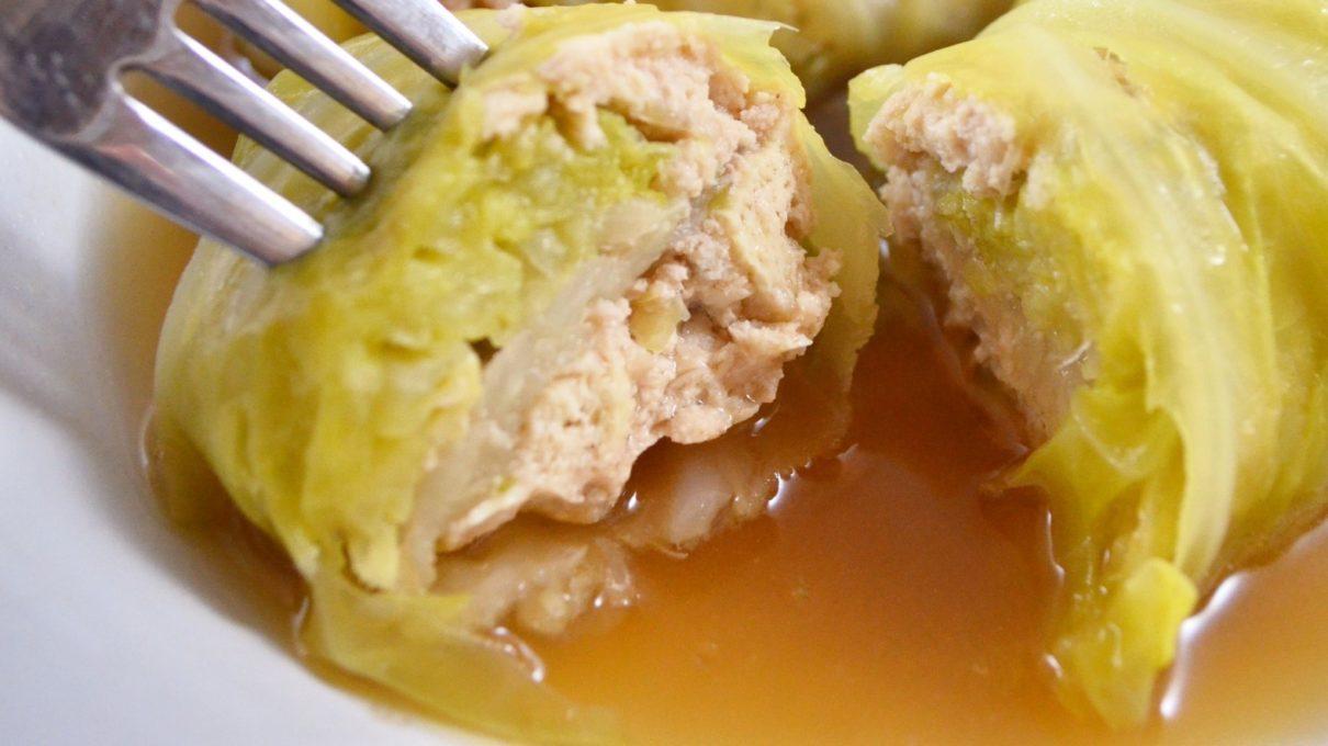 ごごナマの食べればロールキャベツレシピ