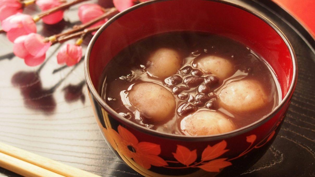 あさイチの煮小豆でぜんざいレシピ