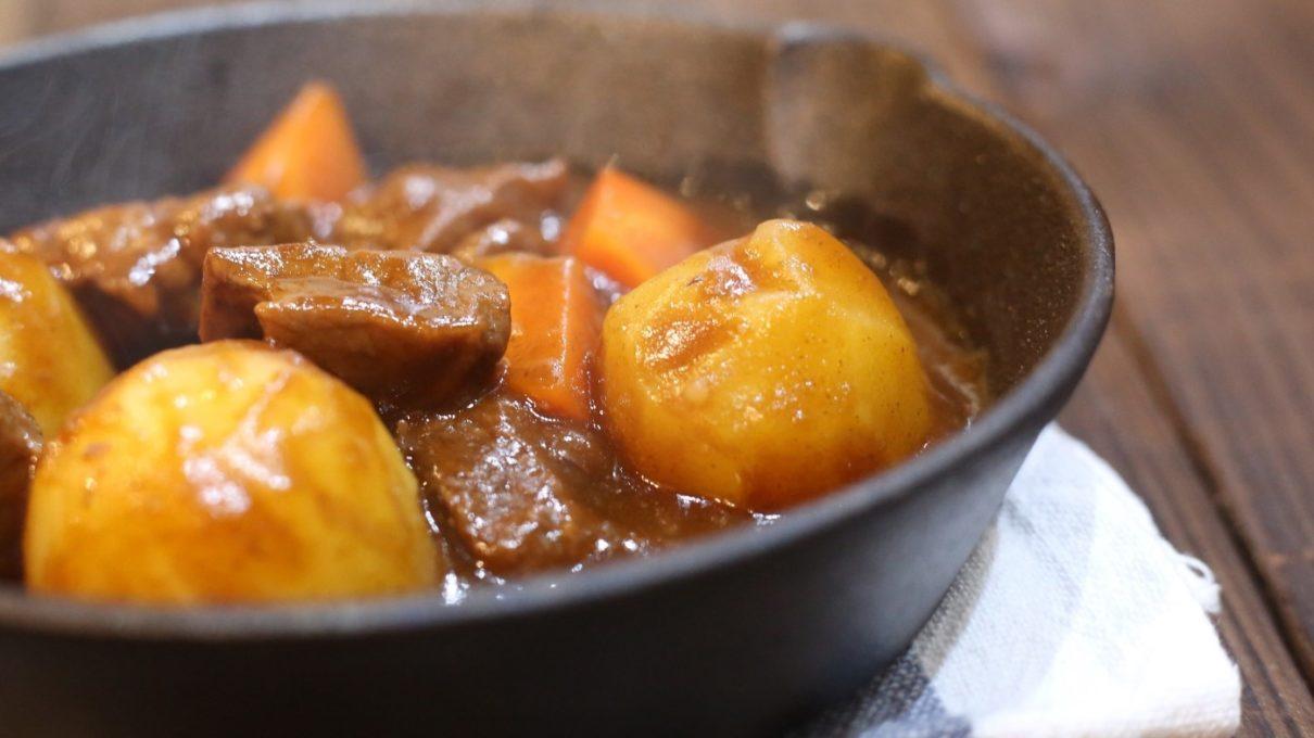 ヒルナンデスの里芋のビーフシチューレシピ