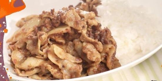 豚キムチスパイスカレー