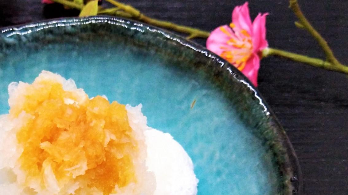 あさイチの焼き餅と鮭の甘酒あえレシピ